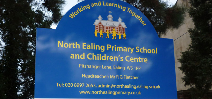North Ealing Primary School catchment area outperforms Ealing (W5) by 23.9%